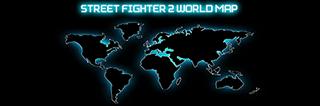 Street Fighter II World Map