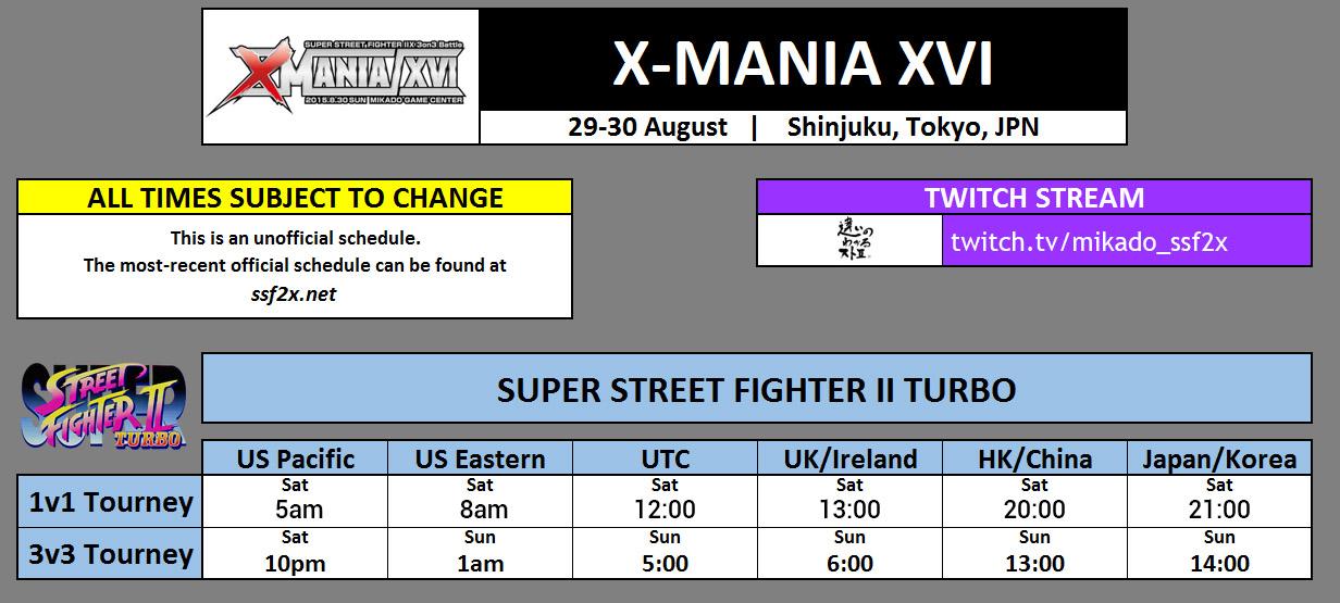 X-MANIA XVI