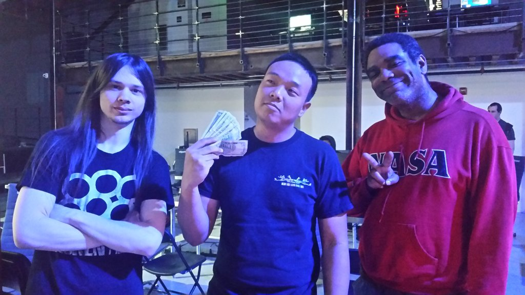 Wednesday Night Fights 1.2 Top 3. 1st - eltrouble, 2nd - Mr. Igloo, 3rd - AfroCole