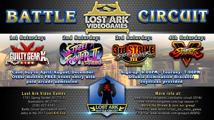 Lost Arc Battle Circuit