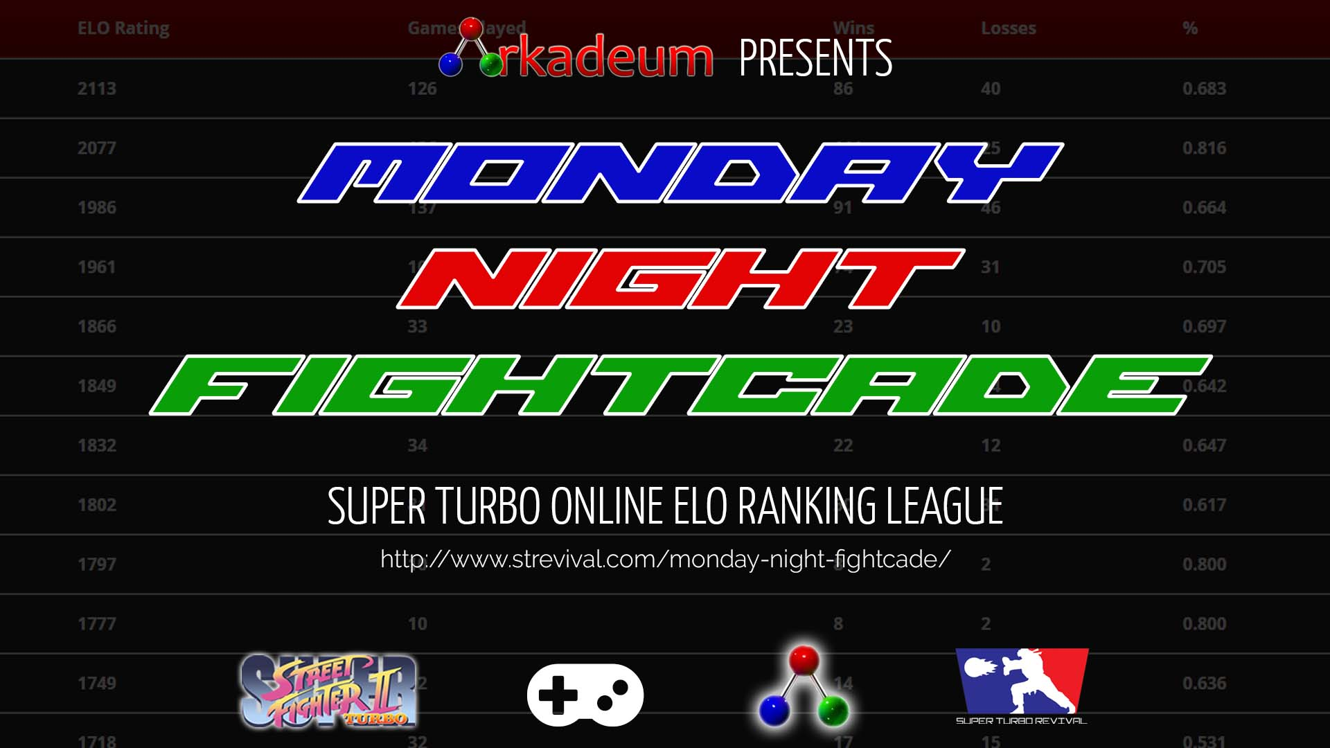 Monday Night Fightcade Promotional Banner