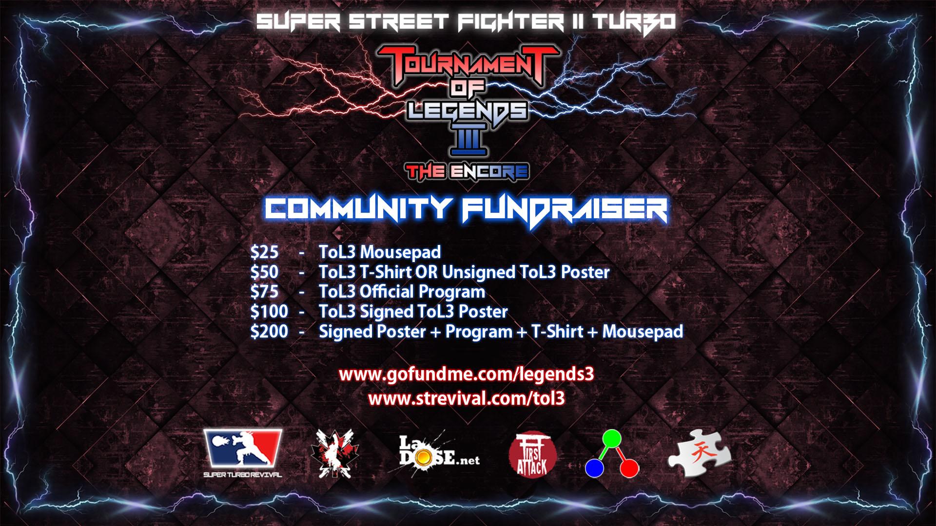 ToL3 Community Fundraiser
