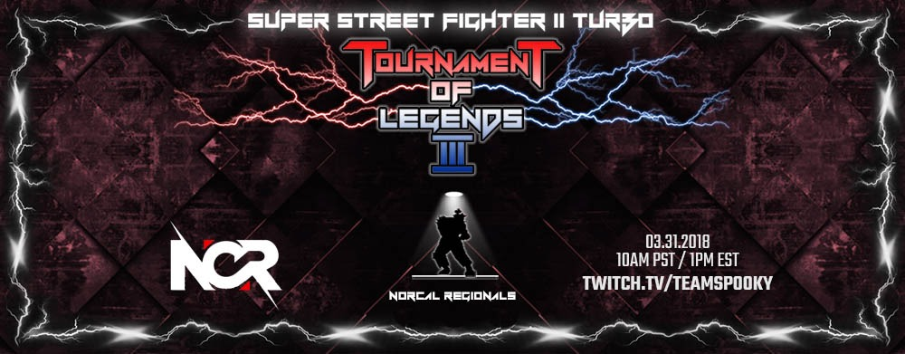 Nor Cal Regionals ToL3 Qualifier takes place this Saturday